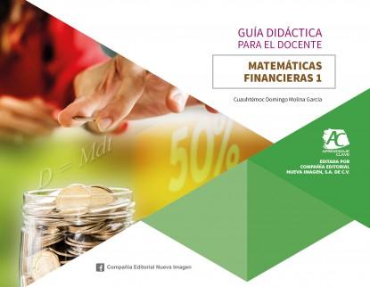 portada guía 332 AC Matemáticas Financieras 1