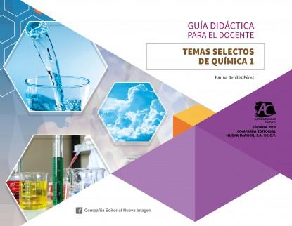 portada guía 338 AC Temas Selectos de Química 1